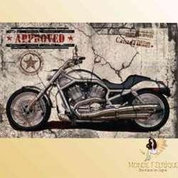 PLAQUE vintage moto americaine plaque retro motos