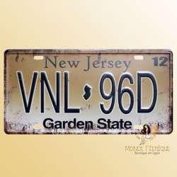 americaine plaque deco décoration immatriculation voitures