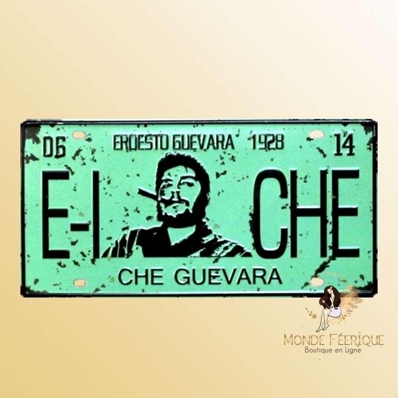 Plaque Déco Vintage El Che Guevara