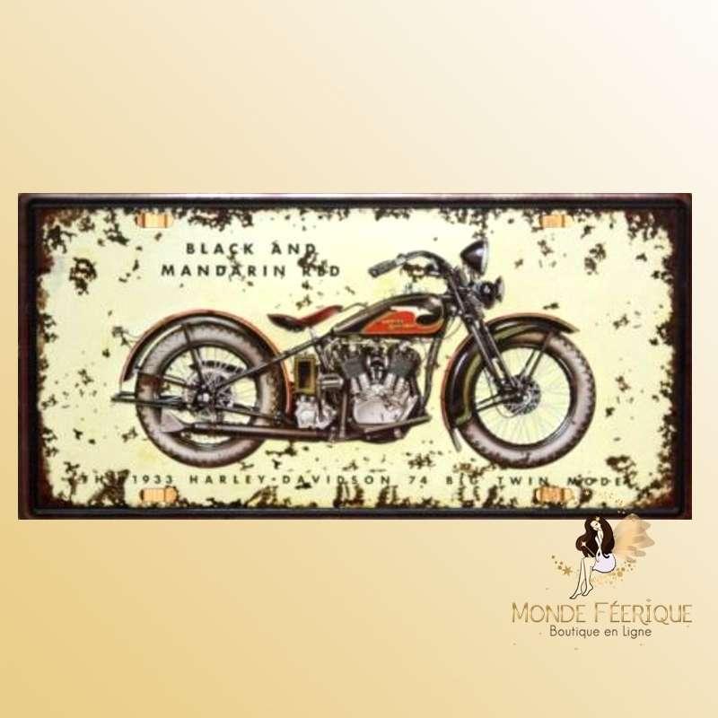 Plaque Décoration murale Harley Davidson