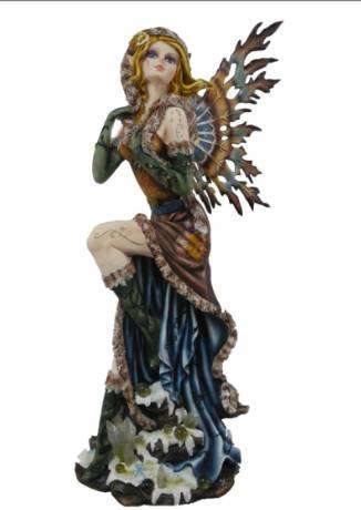 Grande Figurine Fée Blonde -- 58cm