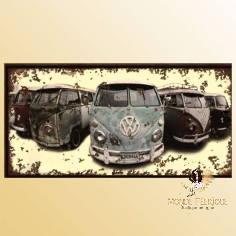 Plaque en metal van VW vintage