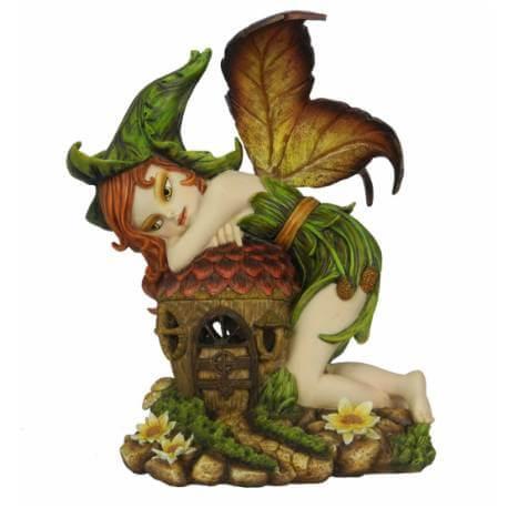 statuette elfe lumineux