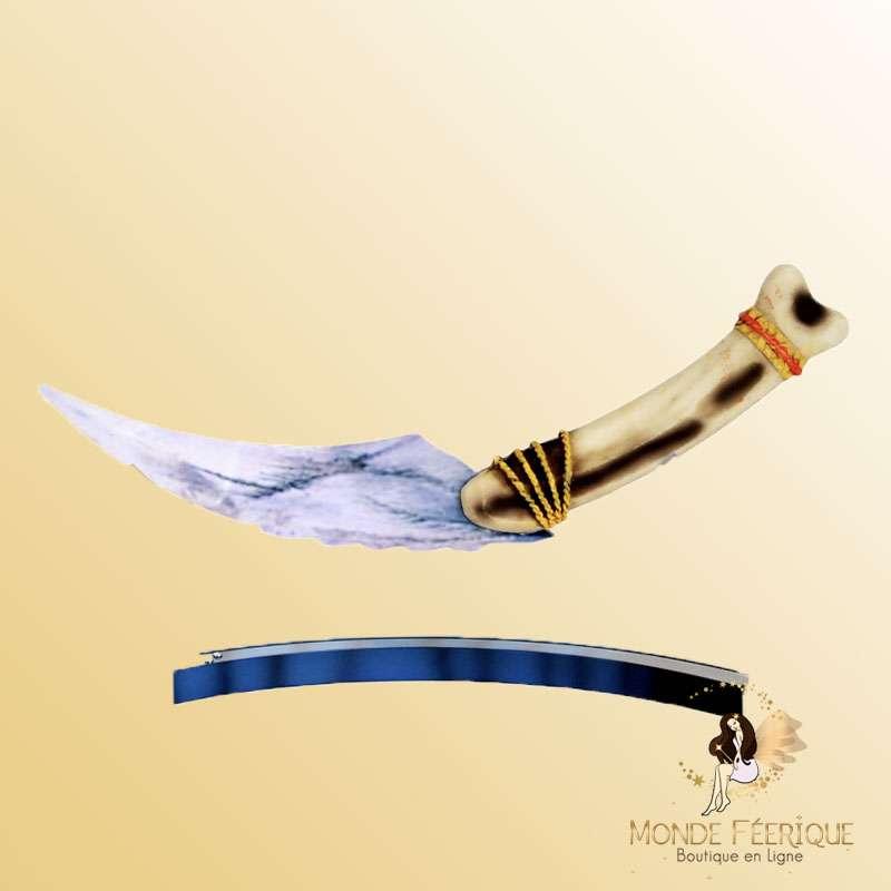 Couteau Silex prehistoire
