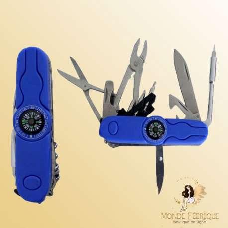 couteau suisse boussole multifonctions