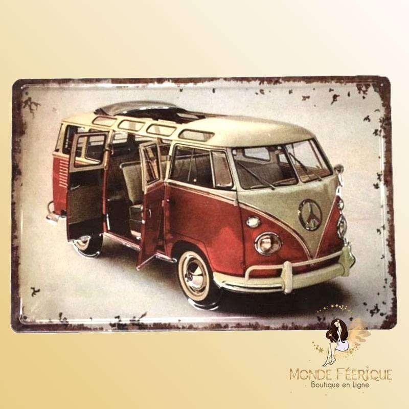 Plaque Décoration vintage Baba Cool Premium 20x30cm