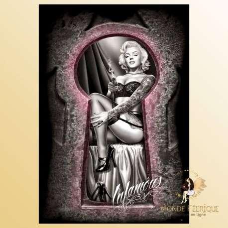 plaque decoration marilyne monroe