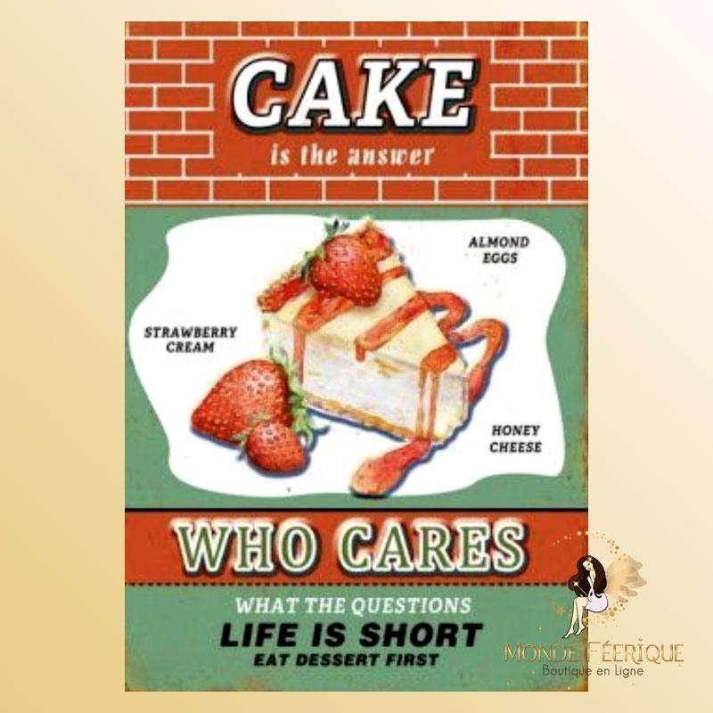 Plaque Décoration Cake Supreme Premium 30x40cm
