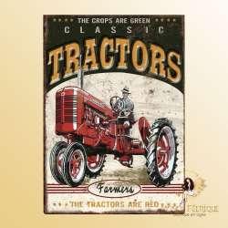 plaque vintage americaine farmer