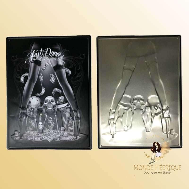 Plaque décoration Strip Tease Premium 30x40cm