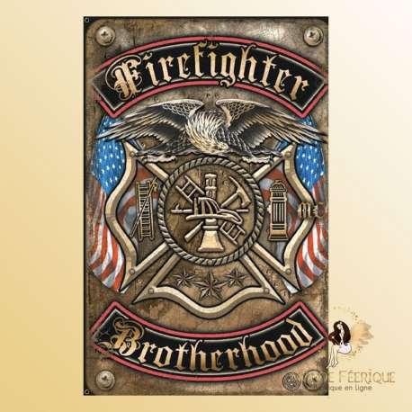 plaque vintage usa armée nation americaine décoration