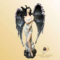 Grande Statuette Fee Gothique Ensorcelante --33cm