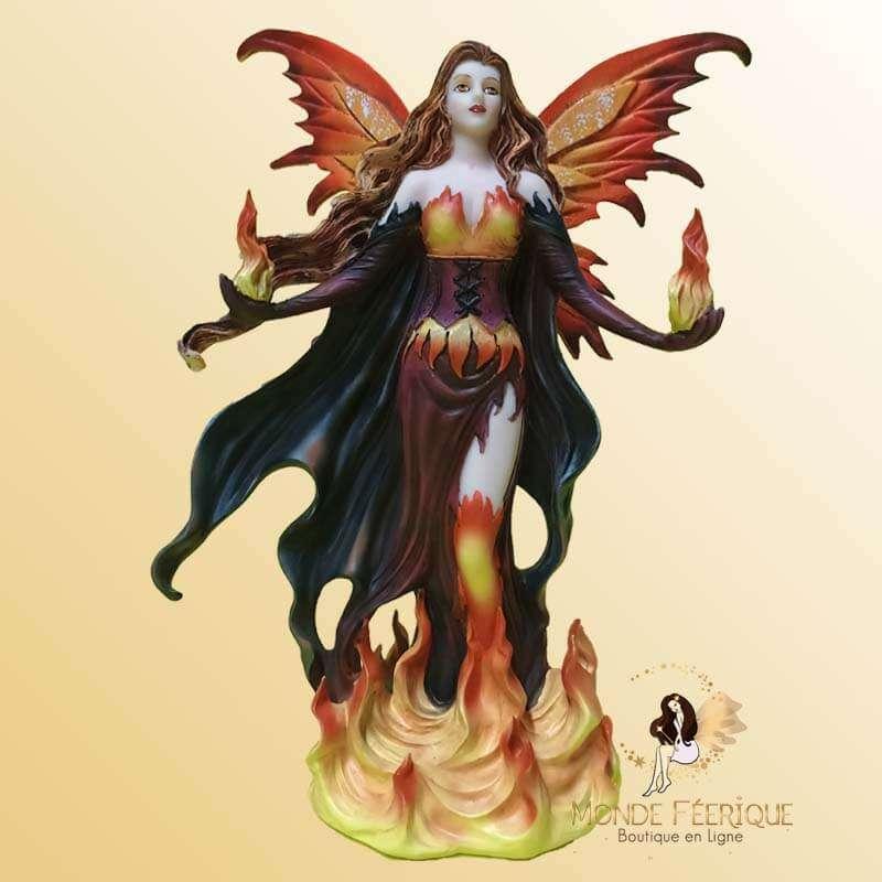 Figurine fee des Flammes