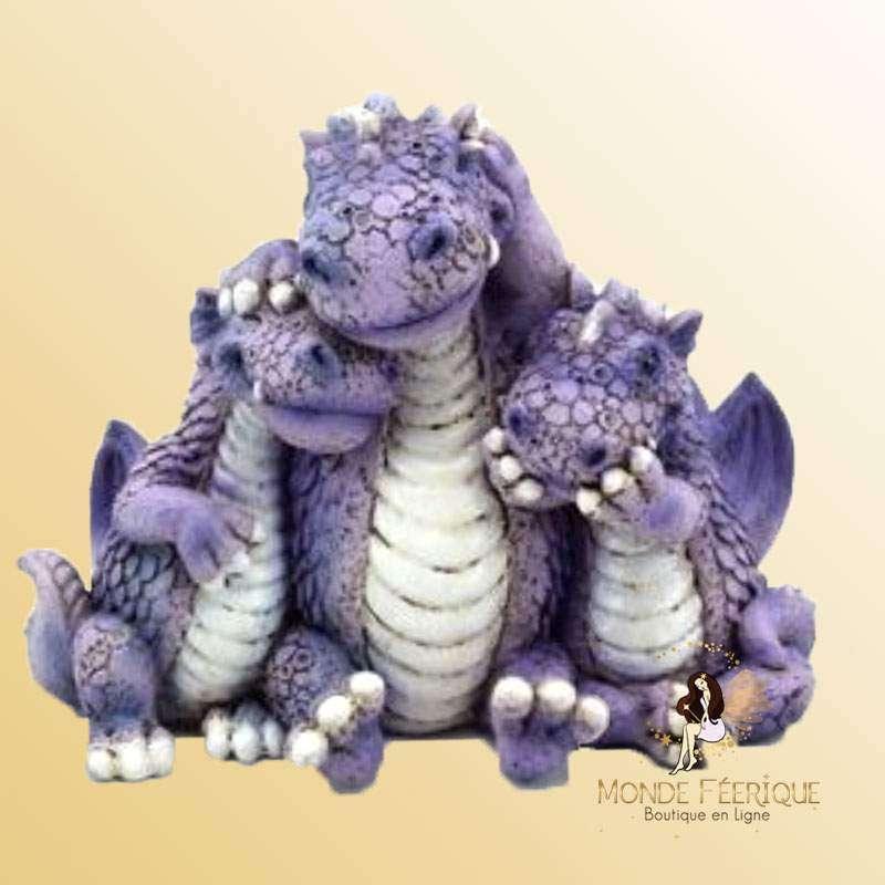 Figurine Dragon - La famille réunie