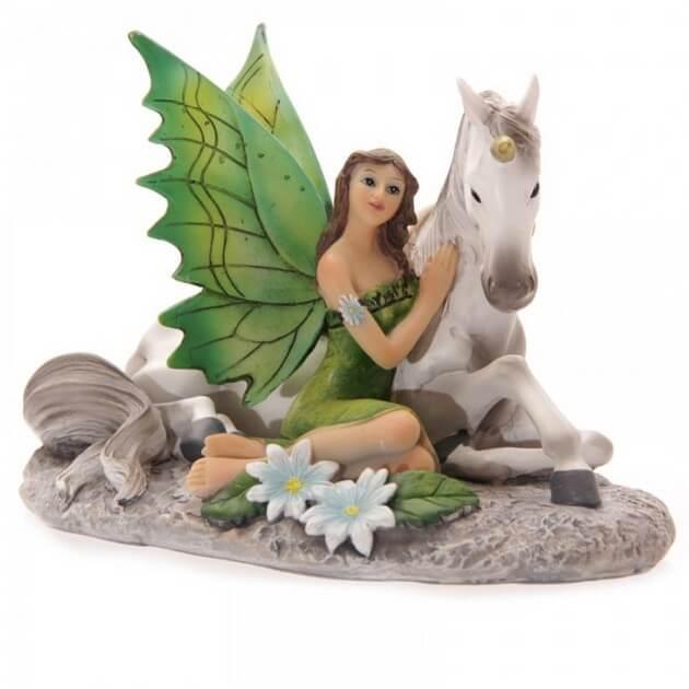 Figurine Fée Amitié Mystique 10cm