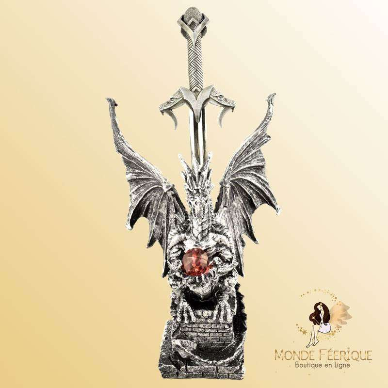 Ouvre Lettre Dragon Epee Emerod 27cm