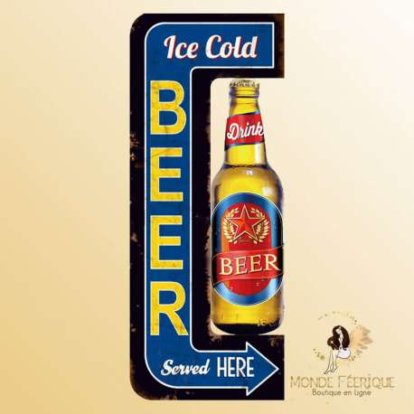 bière décoration