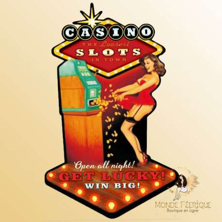 déco vintage casino pin up