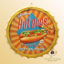 décoration hot dog