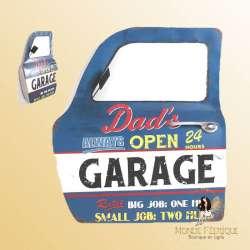 Portiere decoration USA Garage