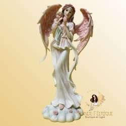 Figurine Fée Angel avec un enfant