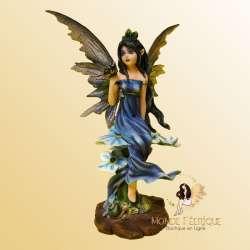 """Figurine Fée """" Rêve des Papillons"""" -- 18cm"""