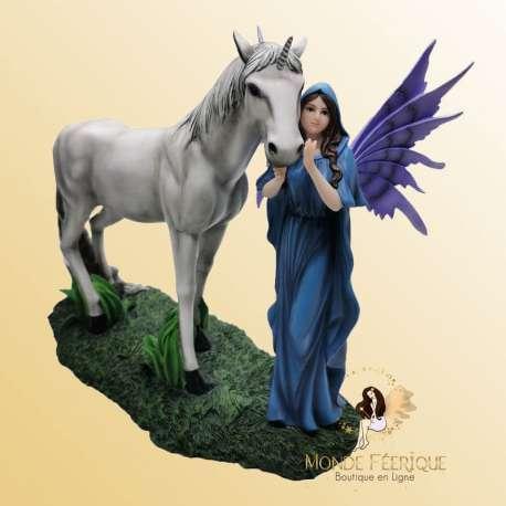 Statuette Fée Licorne