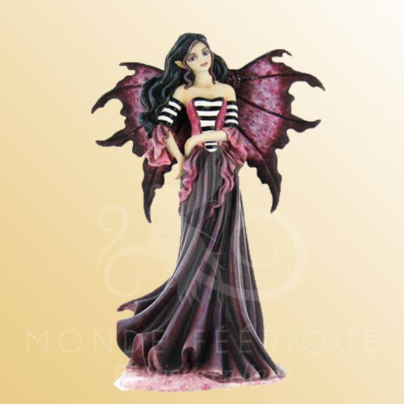 STATUETTE FEE GOTH MAGENTA AMY BROWN