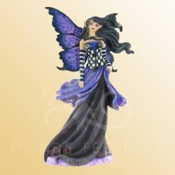 FIGURINE FEE GOTH VIOLET AMY BROWN