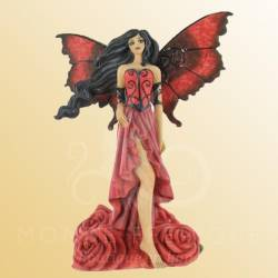 FIGURINE FEE AMY BROWN ROUGE OLEANDER