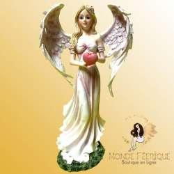 Figurine Fée Angel Coeur