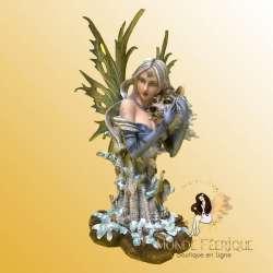 figurine fee loup