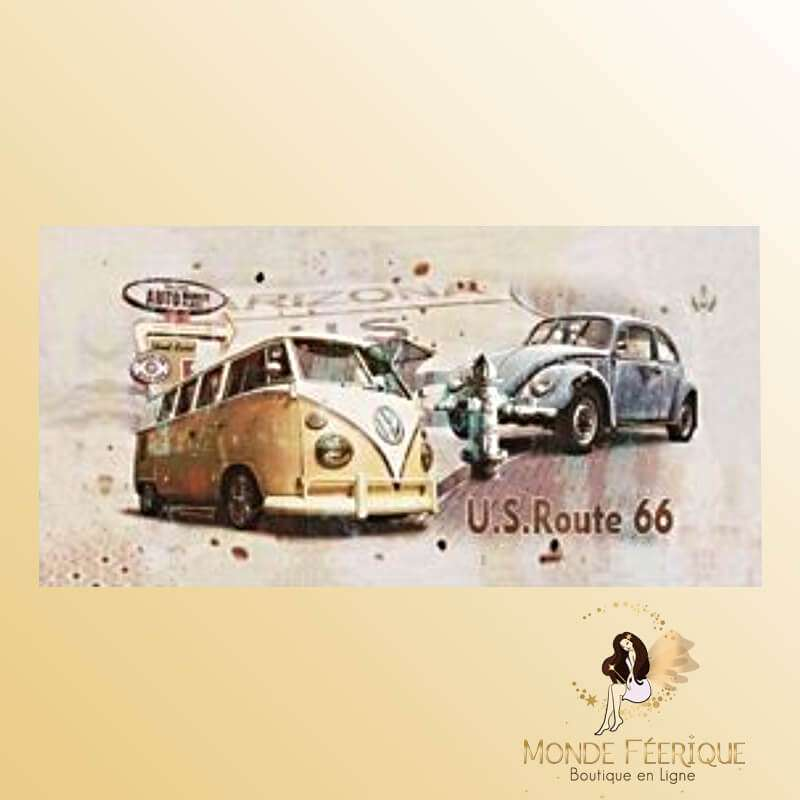 Plaque vintage old Voitures