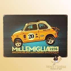 Plaque Vintage 4L