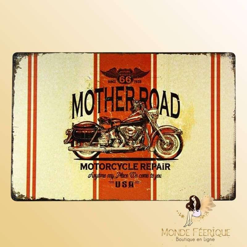 Plaque Vintage Motherroad