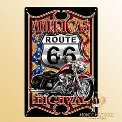 Plaque Vintage Americas