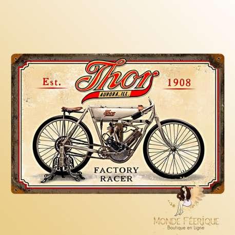 Plaque vintage Vélo