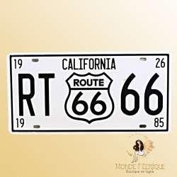 Plaque vintage California Route 66