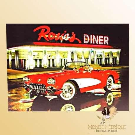 Plaque de decoration vintage Rosies Dinner