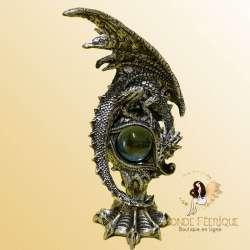 statuette dragon resine
