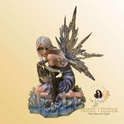 Figurine Fée Glacia Ensorceleuse -- 30cm