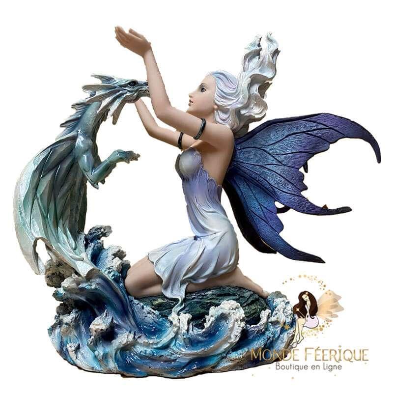 "Figurine Fée ""Merveille de l'océan"" -- 30cm"