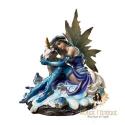 Figurine Fée Licorne Attendri