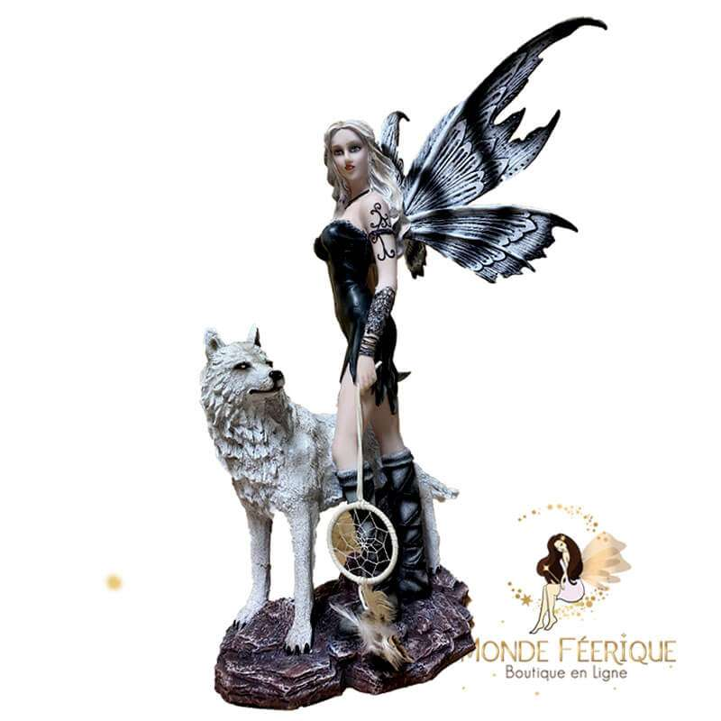 Fée Geante Attrape Rêve -- 57x35cm