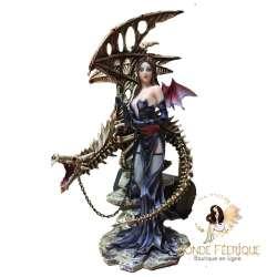 Grande Figurine Fée Dragon Machiavel
