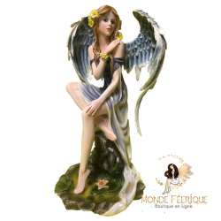 "Grande Statuette Fée Angel ""Eden"" -- 34cm"