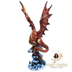 Statue Dragon Rouge Power Anne Stokes