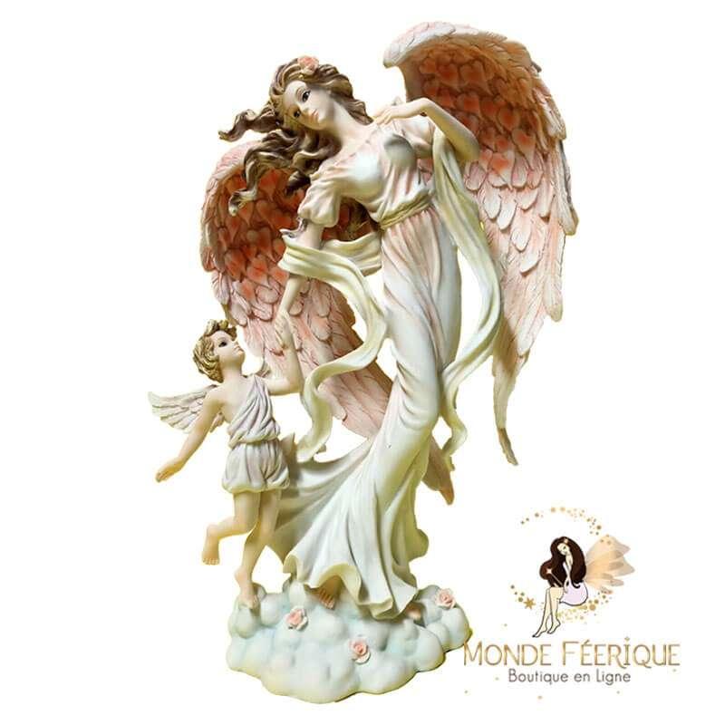 """Statue Fée Angel """"La ballade du Ciel"""" -- 35cm"""