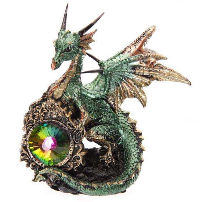 Figurine Dragon avec Cristal