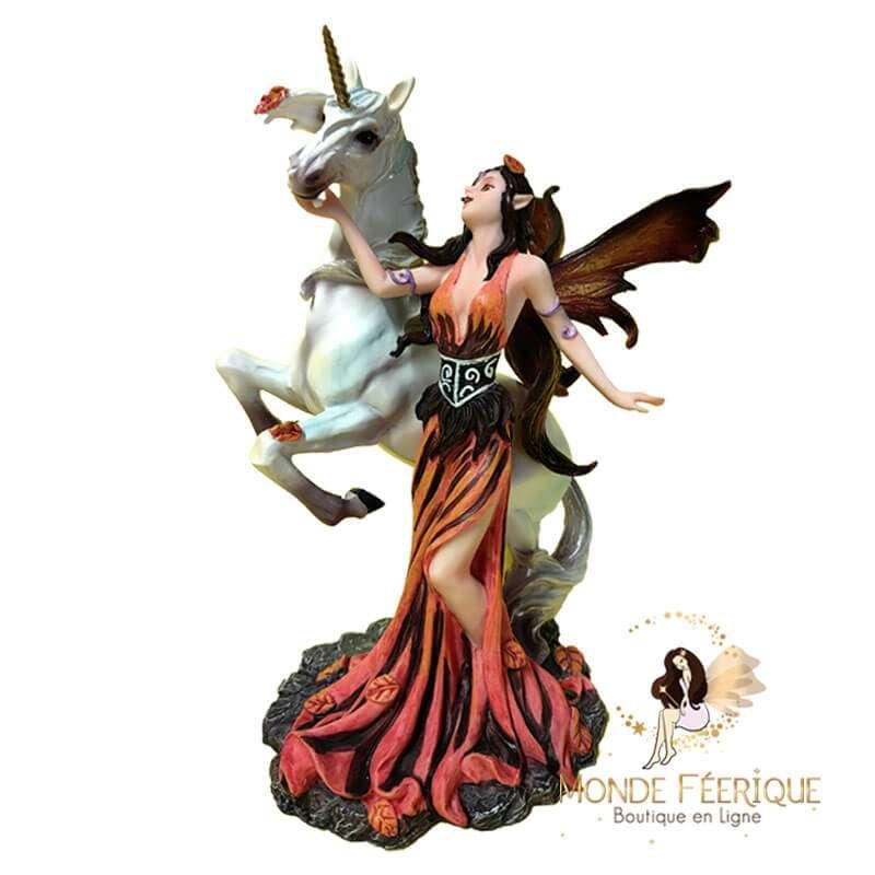 Figurine fée Licorne Magie Fantasy 4